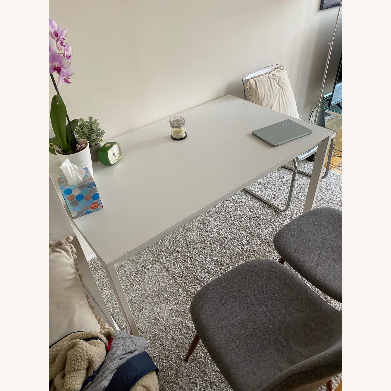 IKEA White Dining Table - image-2