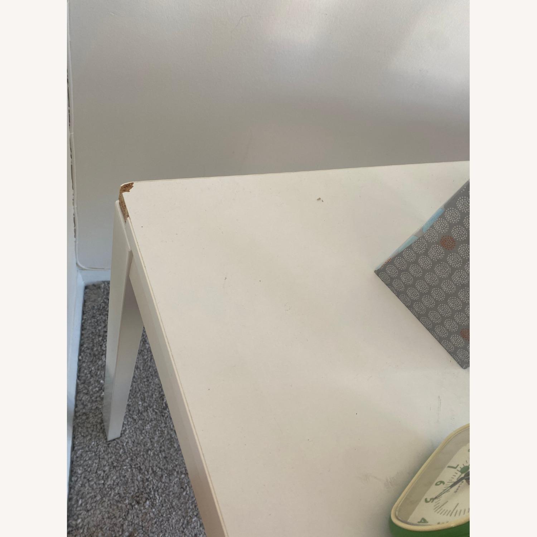 IKEA White Dining Table - image-4