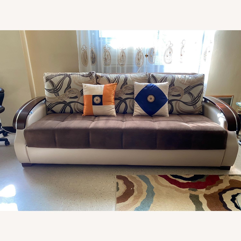3+ Seater Folding Sofa - image-1