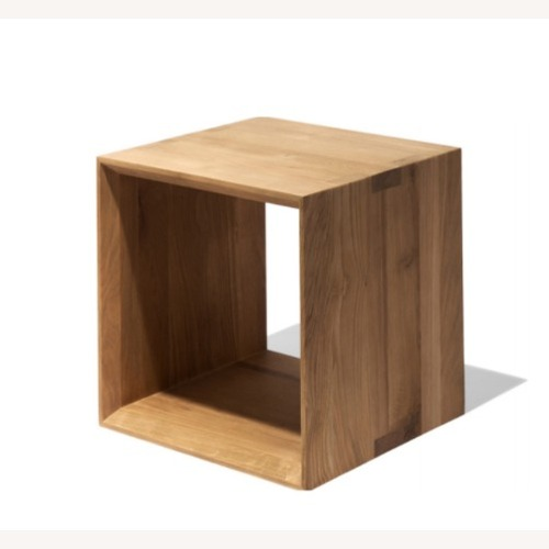 Used Industry West Closed Cube Table for sale on AptDeco