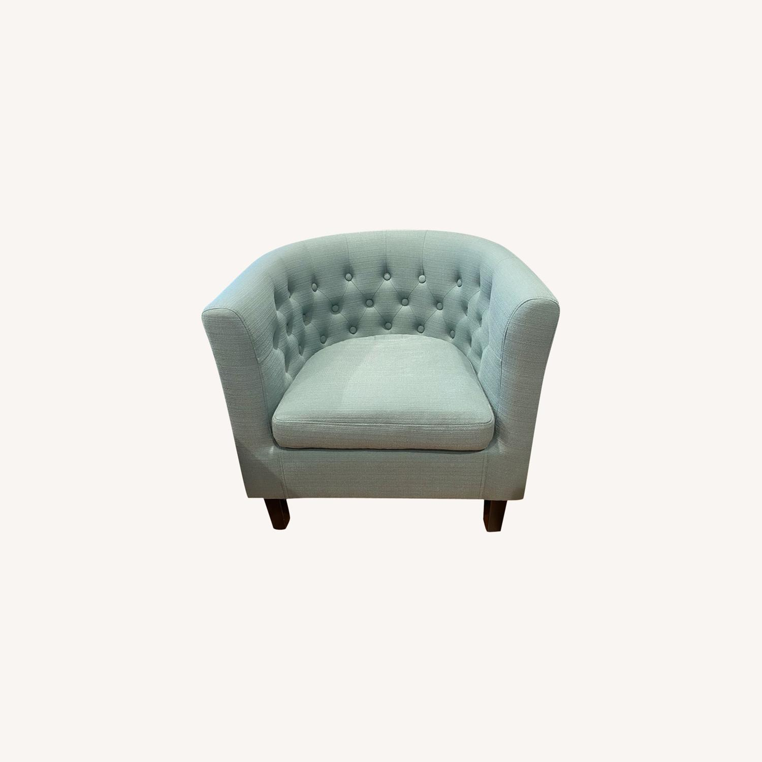 Wayfair Accent Chair Teal - image-0