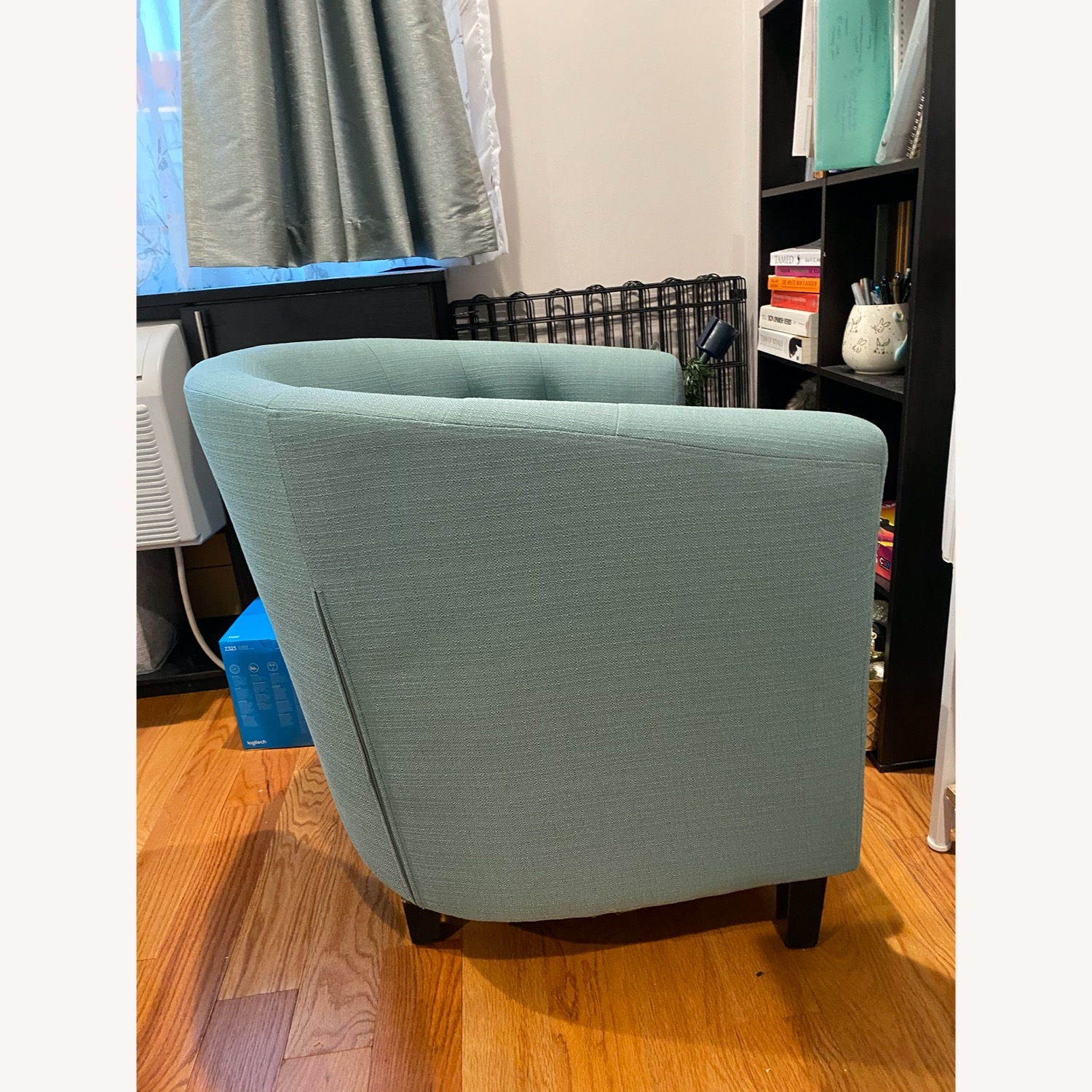 Wayfair Accent Chair Teal - image-3