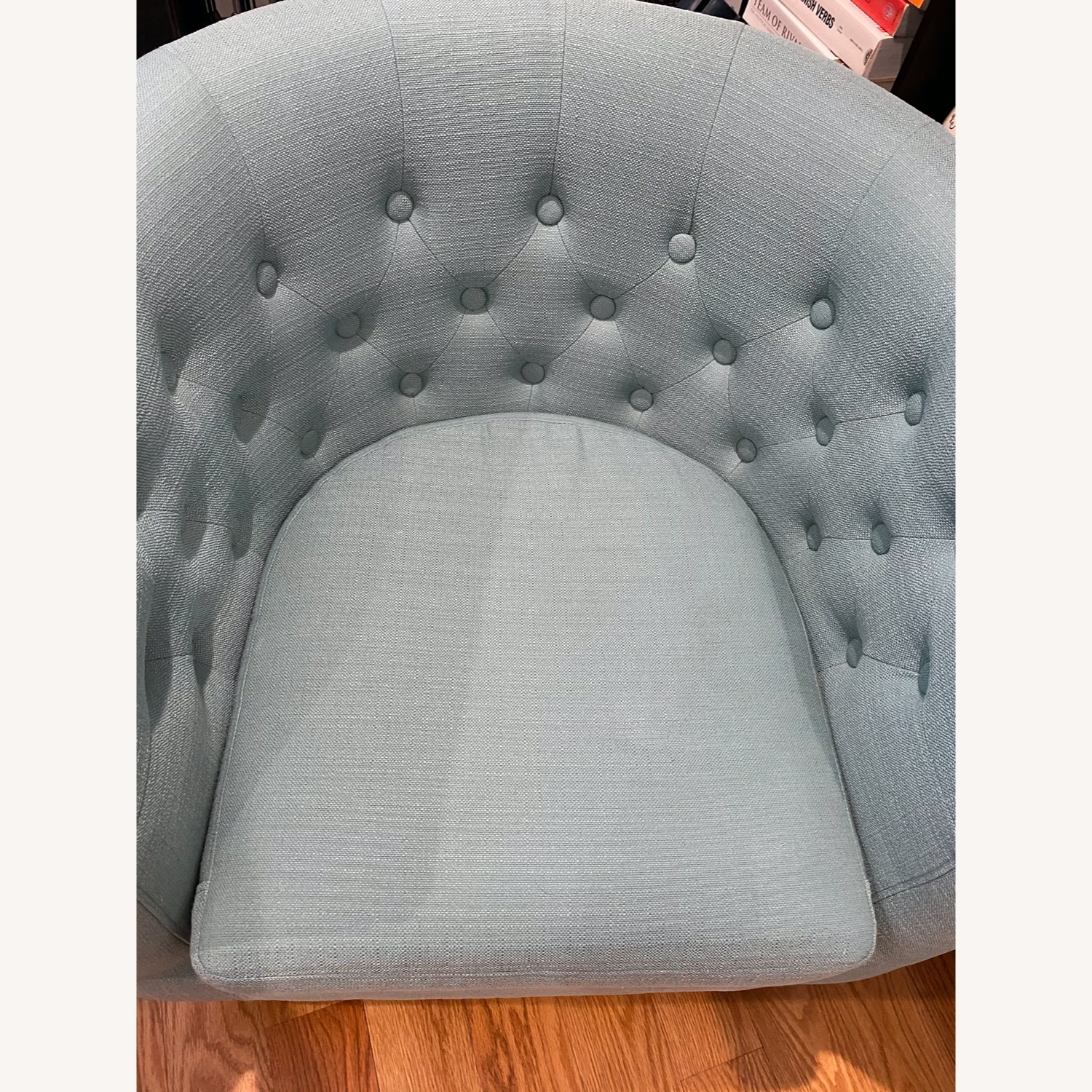 Wayfair Accent Chair Teal - image-4