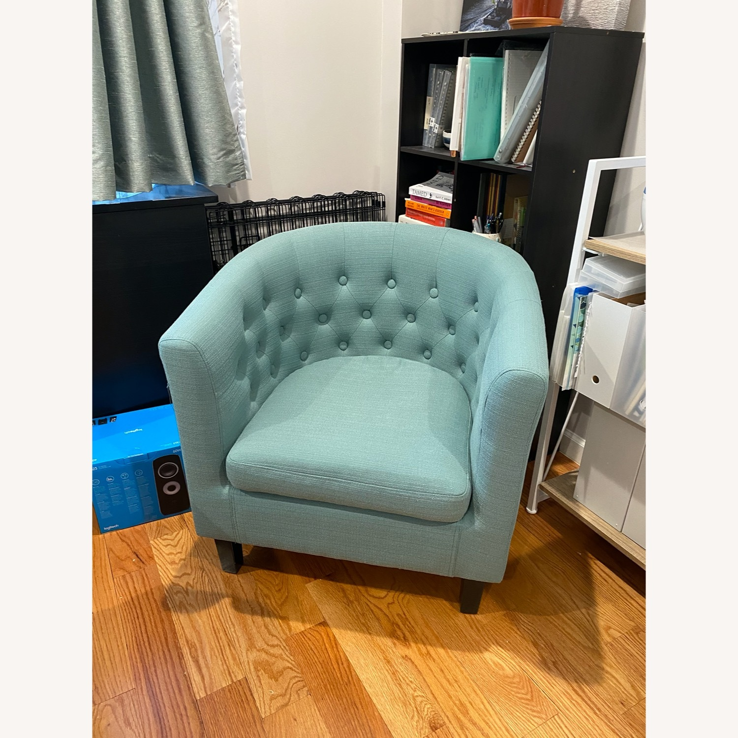 Wayfair Accent Chair Teal - image-2