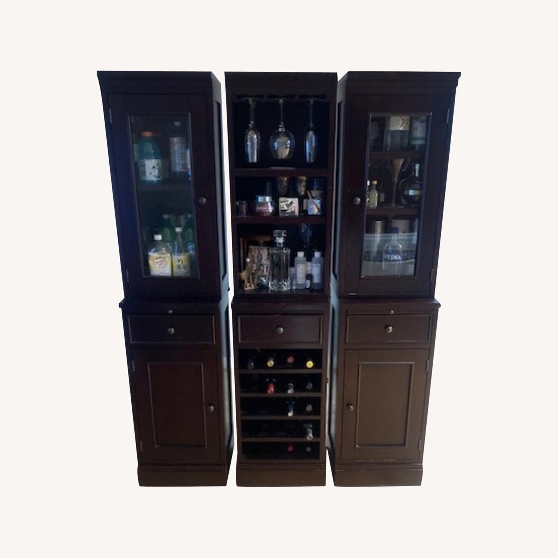 Crate & Barrel Bar Unit - image-0