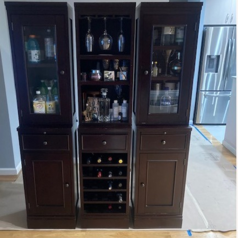Crate & Barrel Bar Unit - image-1
