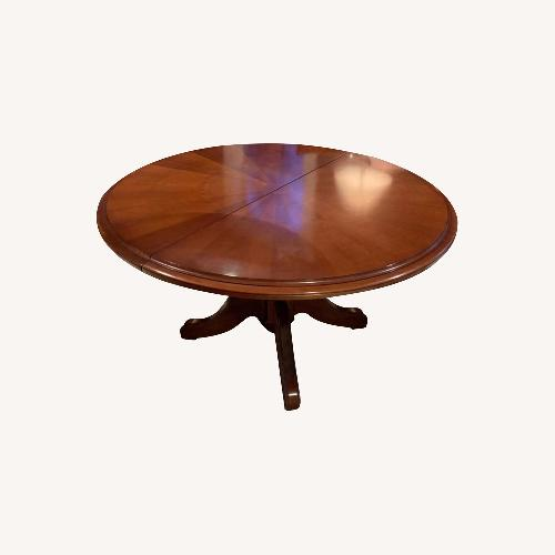 Used Grange 55 Round Dining Table for sale on AptDeco