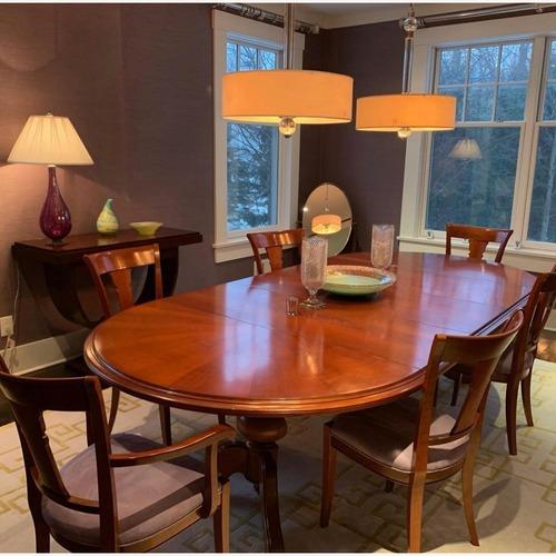 Used Grange Dining Room Set for sale on AptDeco