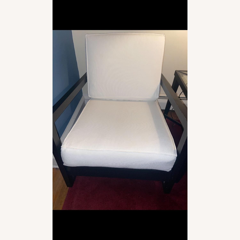 IKEA Dark Brown Wood Accent Chair - image-11
