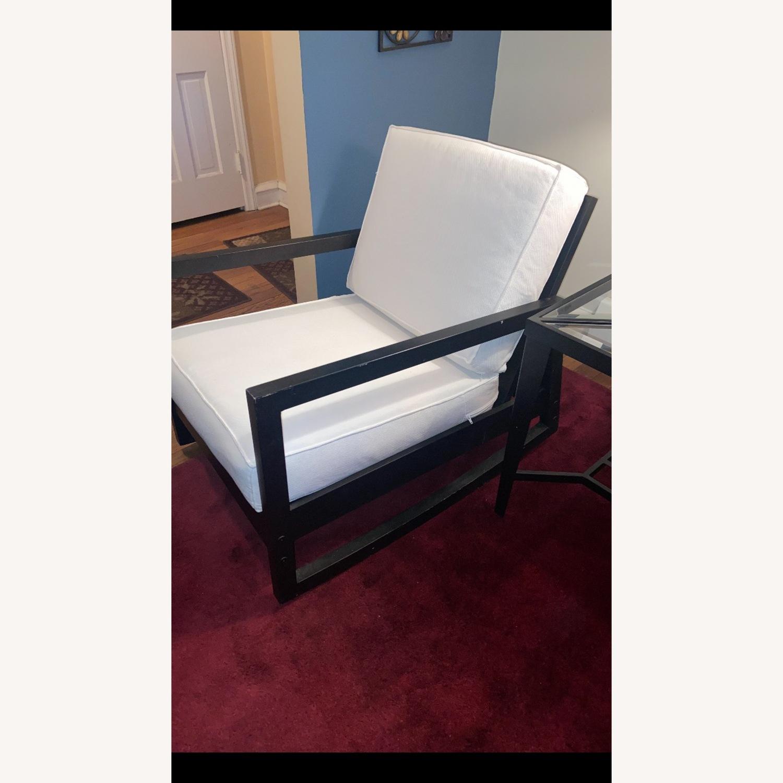 IKEA Dark Brown Wood Accent Chair - image-9