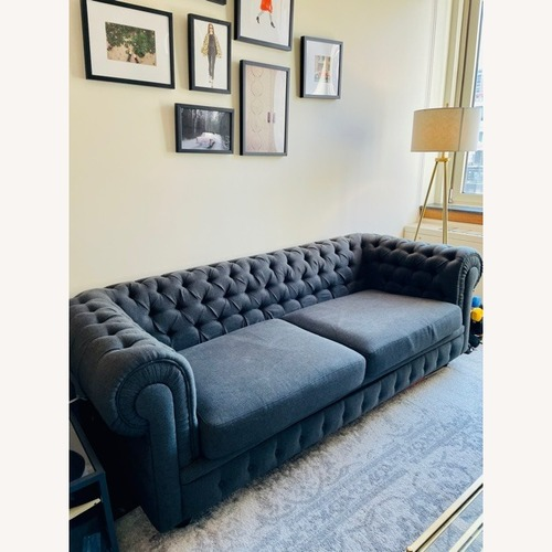 Used Kardiel Chesterfield Contemporary Sofa for sale on AptDeco
