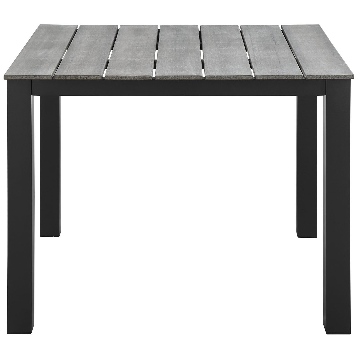 Modern 5-Piece Dining Set In Gray Frame Finish - image-5