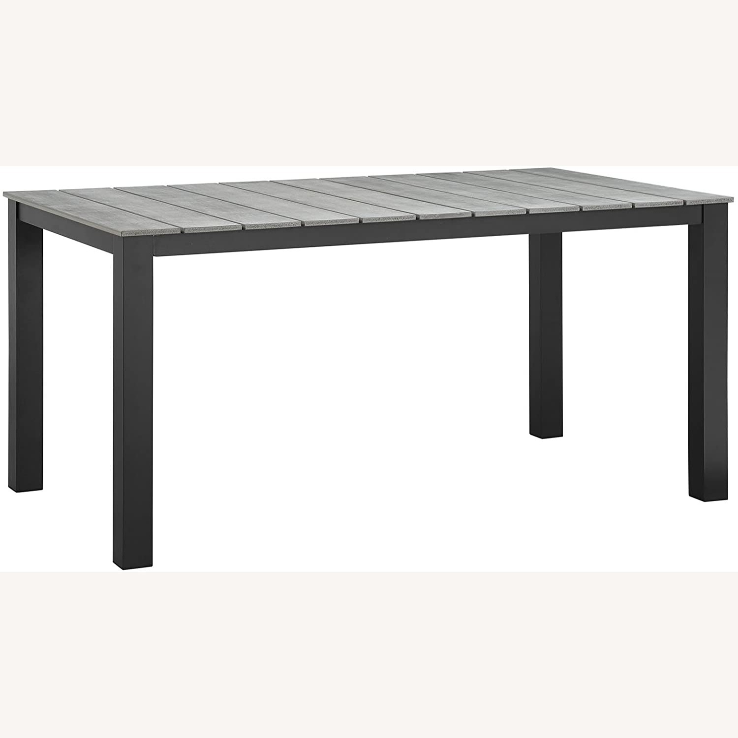 Modern 7-Piece Dining Set In Gray Frame Finish - image-4