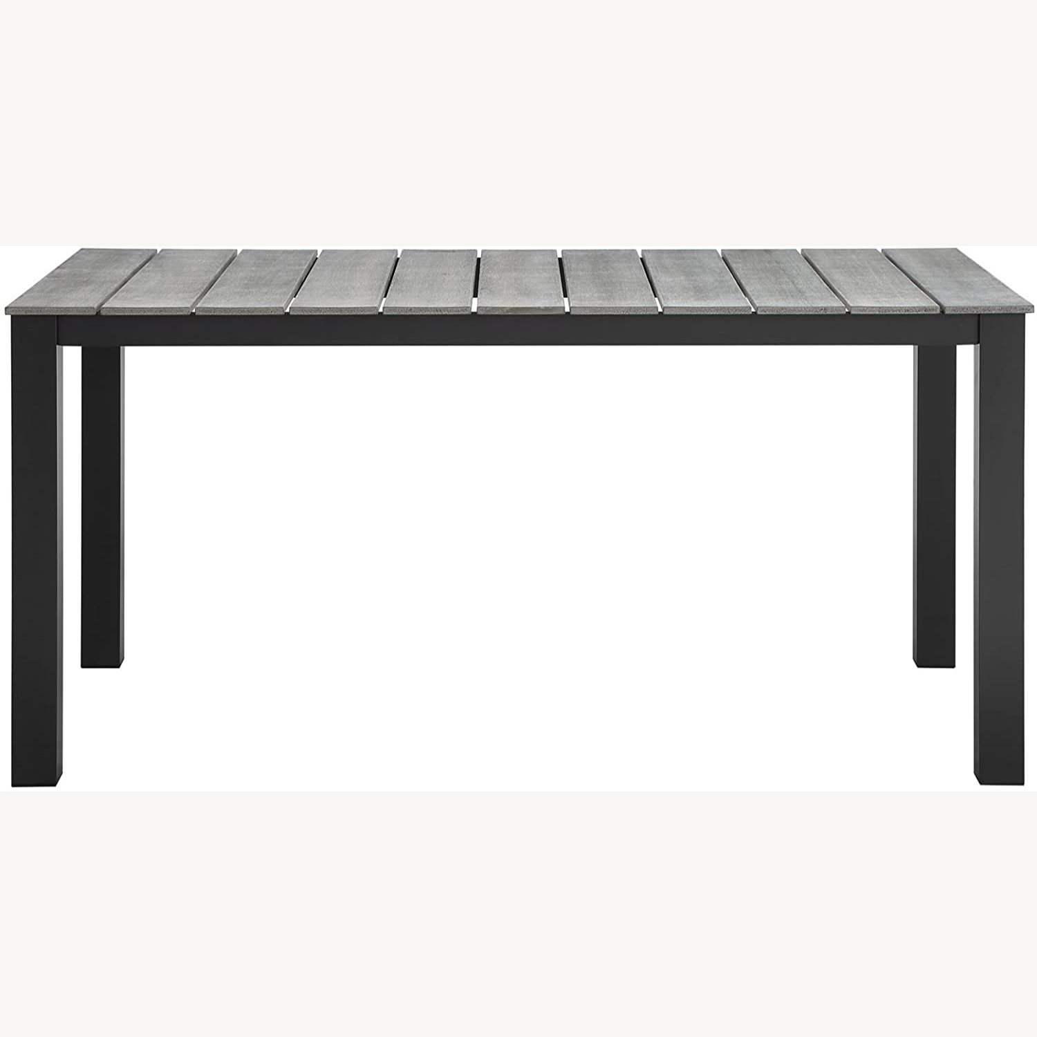 Modern 7-Piece Dining Set In Gray Frame Finish - image-5