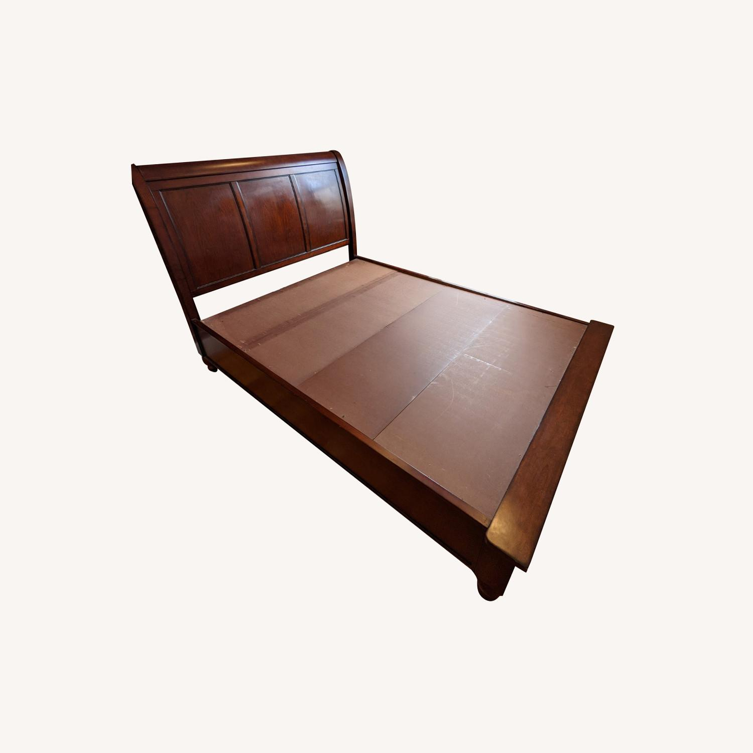 Aspen Home Queen Sleigh Bed with Storage Footboard - image-0