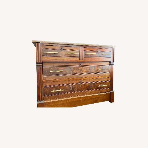 Used 1860s East Lake marble-top Dresser for sale on AptDeco