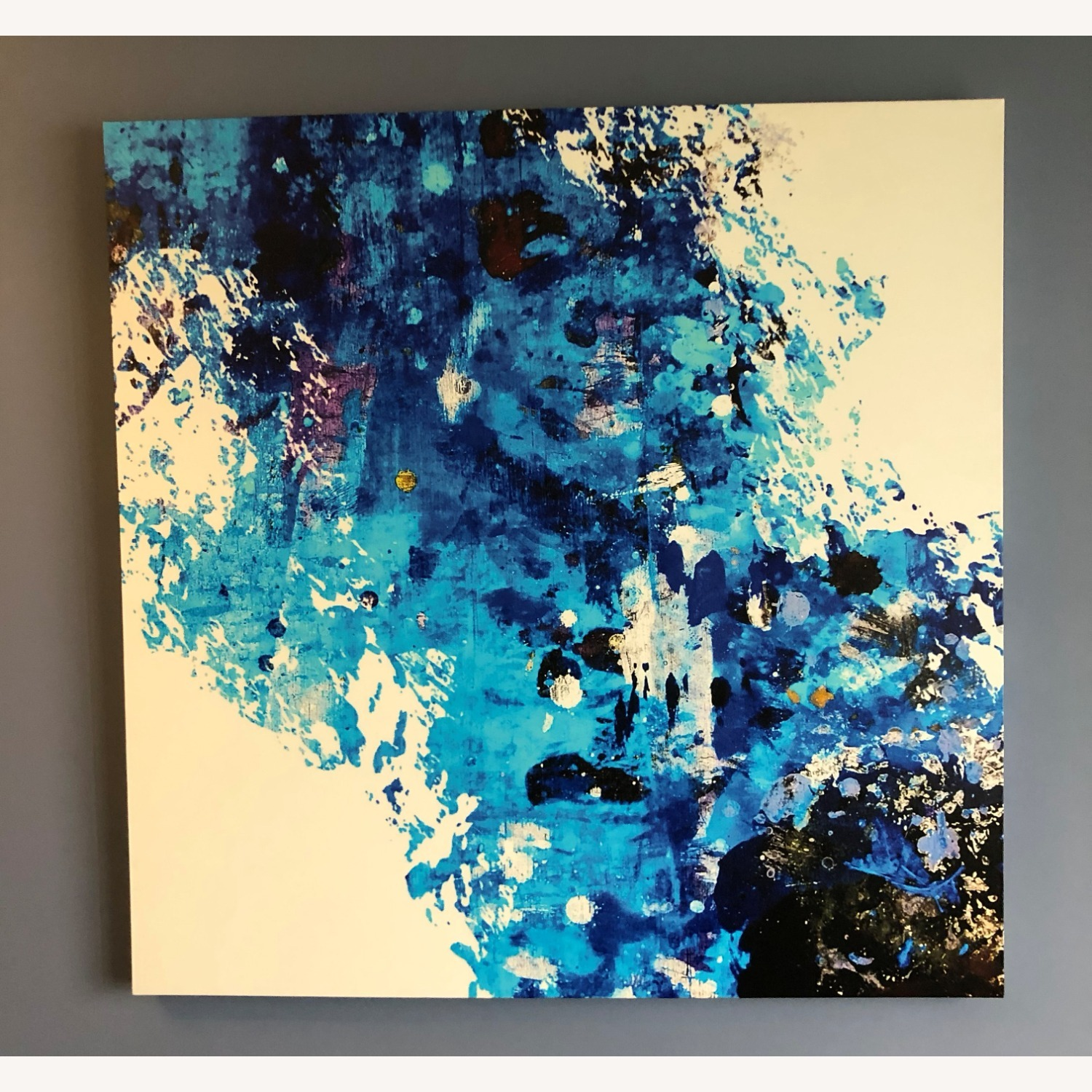 Candid Cold Oversized Gallery Wrapped Canvas - image-3