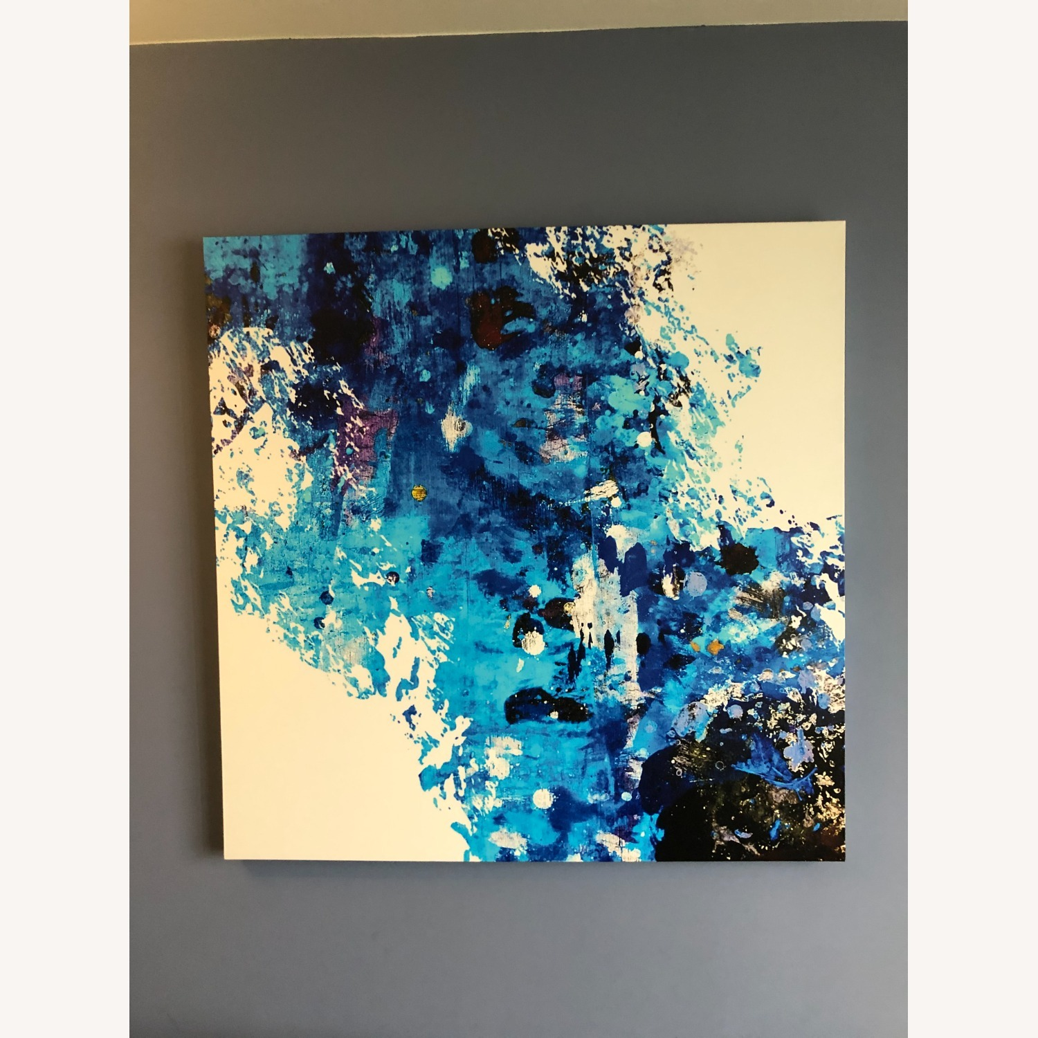Candid Cold Oversized Gallery Wrapped Canvas - image-1