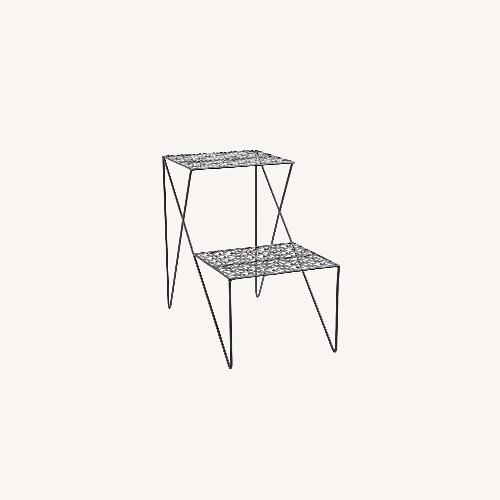 Used Urban Outfitters Two Tier Side Table for sale on AptDeco