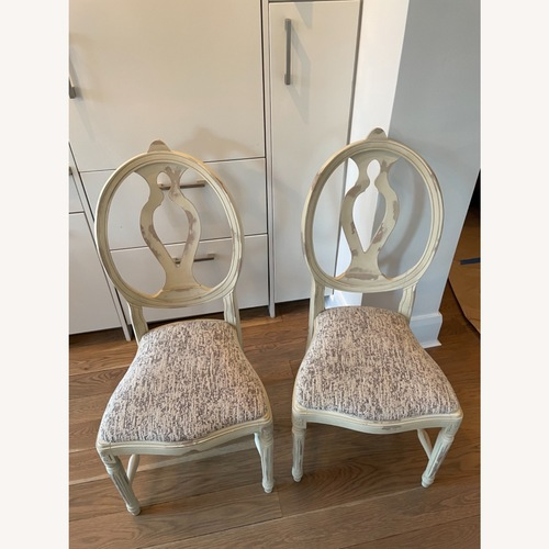 Used Set of 2 Cecilia Arhaus Dining Chairs for sale on AptDeco