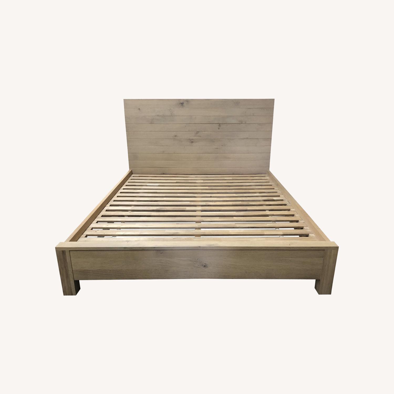 Crate & Barrel Full Elan Bed - image-0