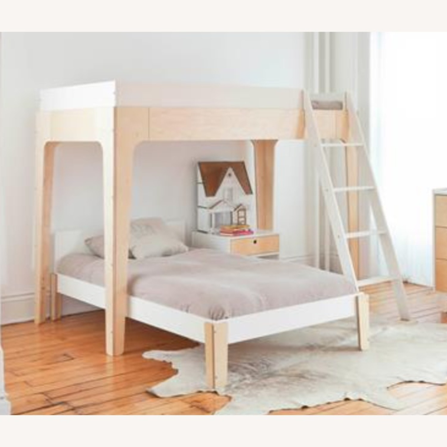Oeuf Perch Modern Classic Birch Bunk Bed - image-2
