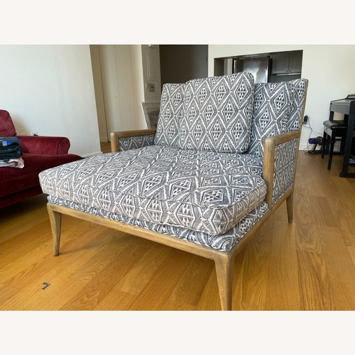 Used Anthropologie Florence Chaise for sale on AptDeco