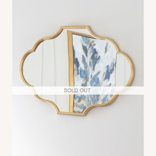 Used Horchow Gold Mirror for sale on AptDeco