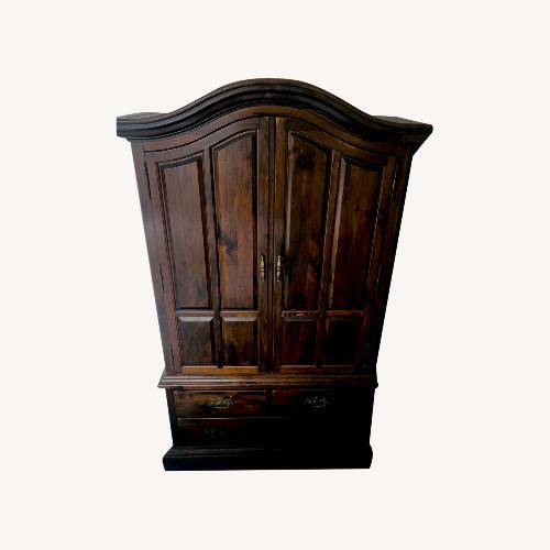 Used Solid Hardwood Armoire for sale on AptDeco