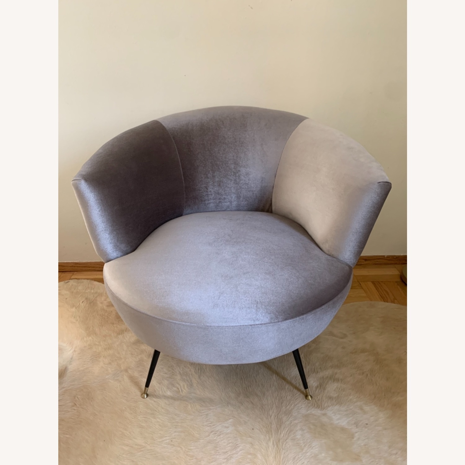 Midcentury Style Curved Chair - image-4