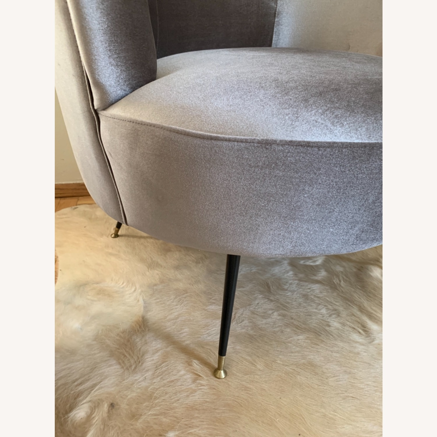 Midcentury Style Curved Chair - image-3