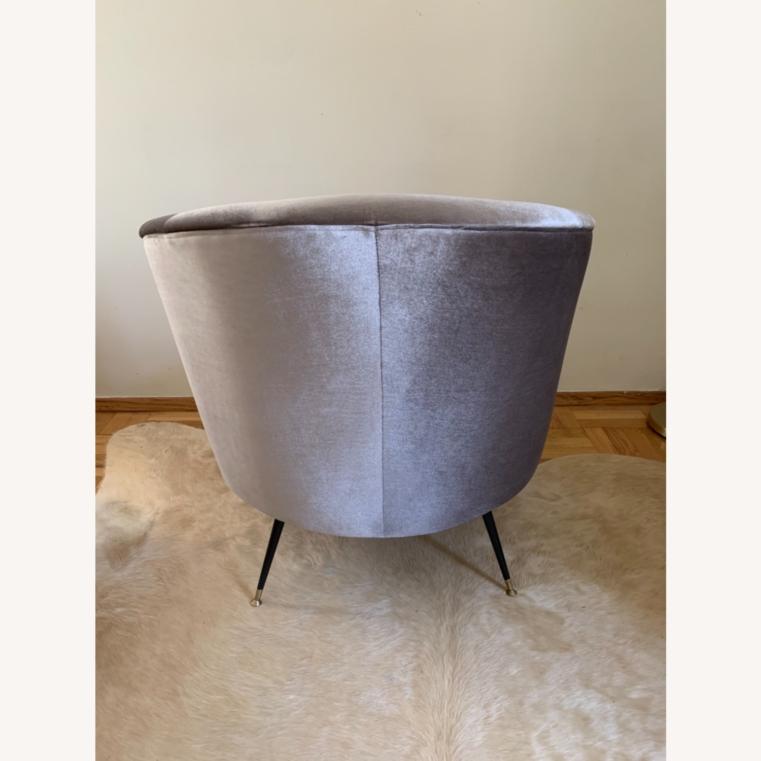 Midcentury Style Curved Chair - image-2
