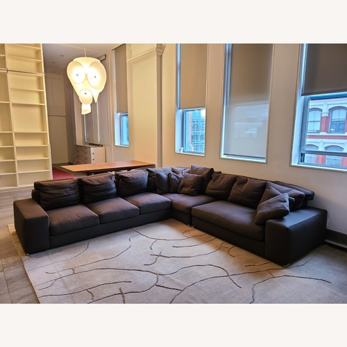 Used Minotti DDC Jagger L-Shaped Sectional Sofa for sale on AptDeco