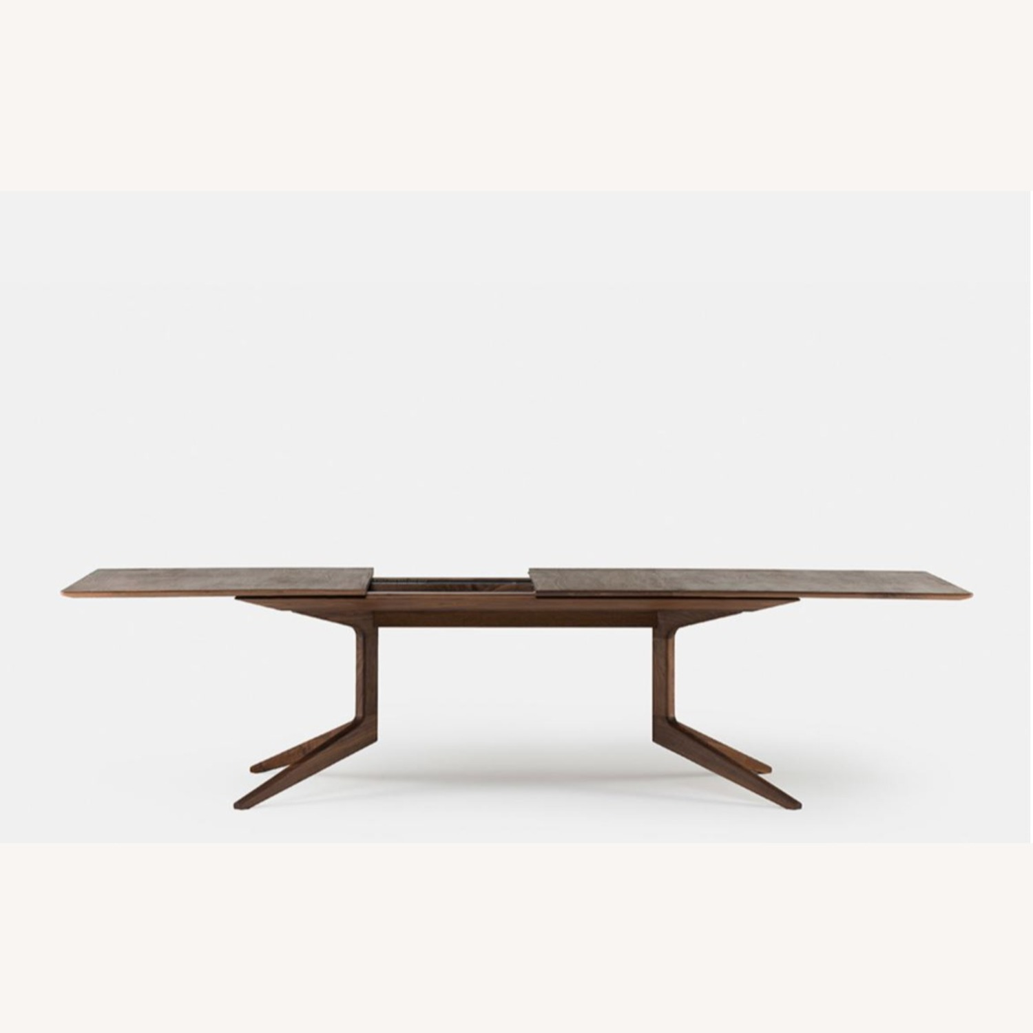 De La Espada 341E Extending Dining Table Walnut - image-5