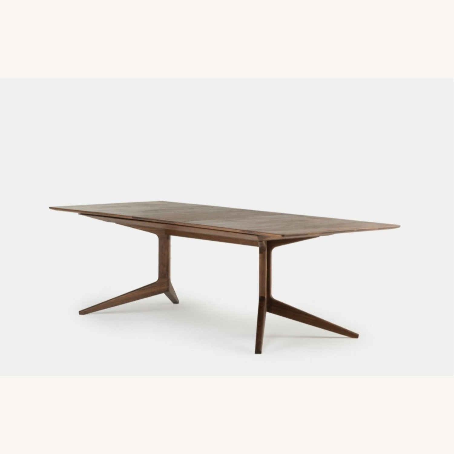 De La Espada 341E Extending Dining Table Walnut - image-1