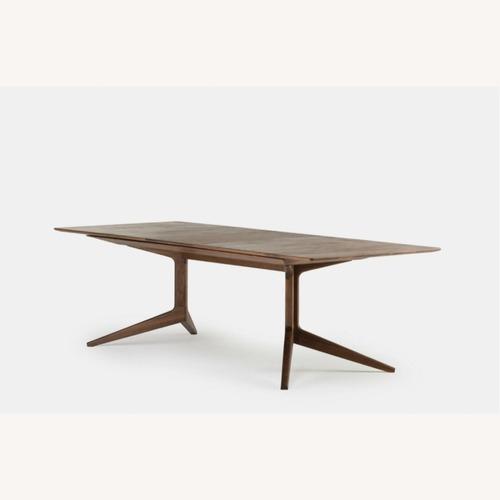 Used De La Espada 341E Extending Dining Table Walnut for sale on AptDeco