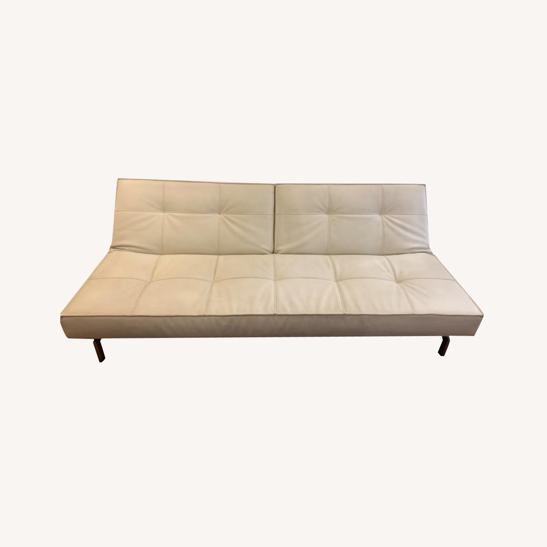Innovation USA Leather Sleeper Sofa - image-0