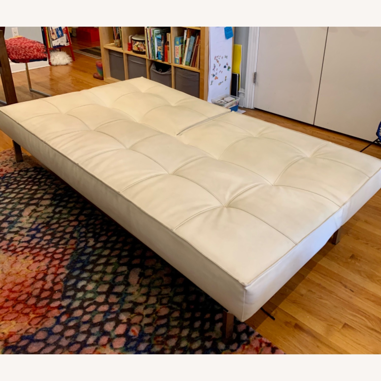 Innovation USA Leather Sleeper Sofa - image-5