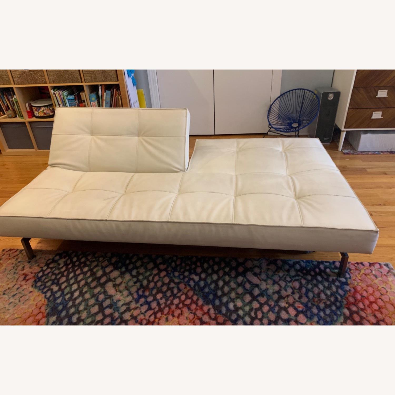Innovation USA Leather Sleeper Sofa - image-4