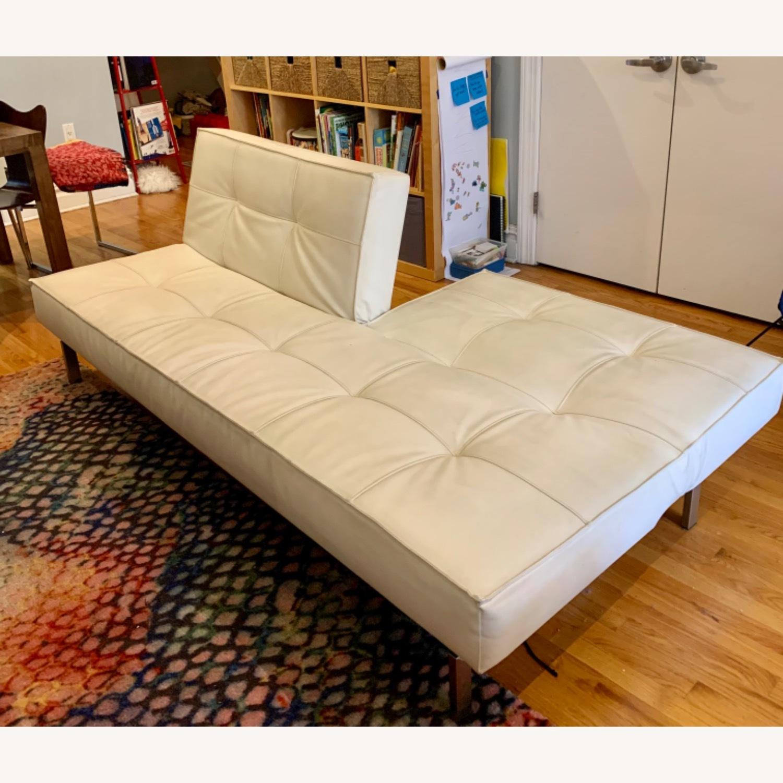 Innovation USA Leather Sleeper Sofa - image-10