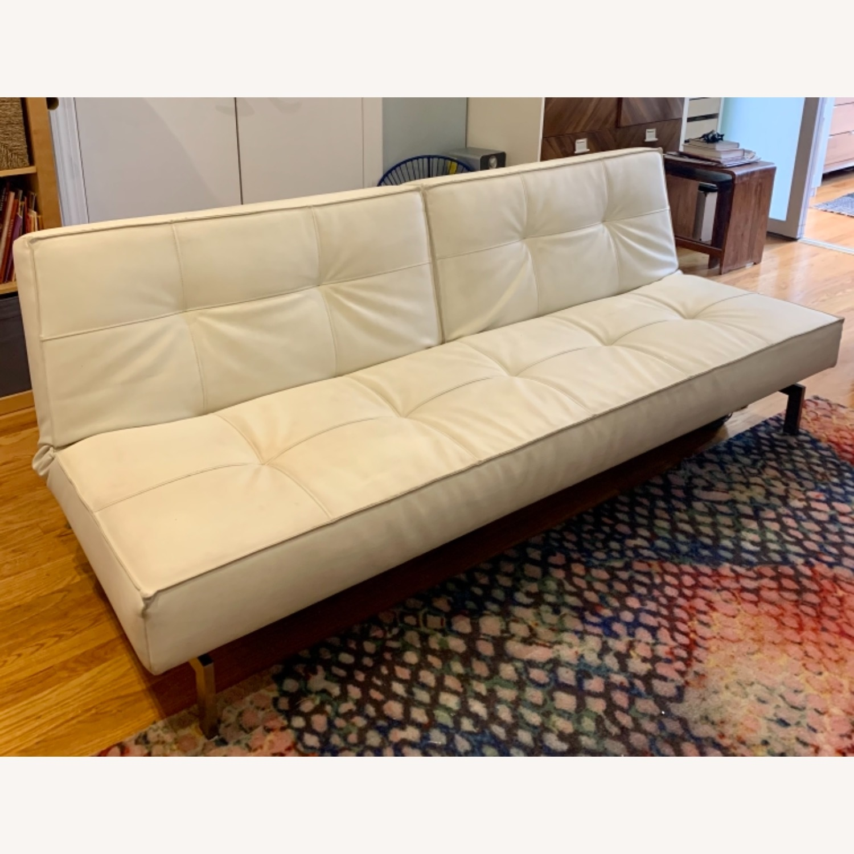 Innovation USA Leather Sleeper Sofa - image-1