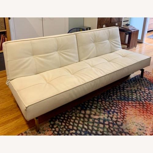 Used Innovation USA Leather Sleeper Sofa for sale on AptDeco