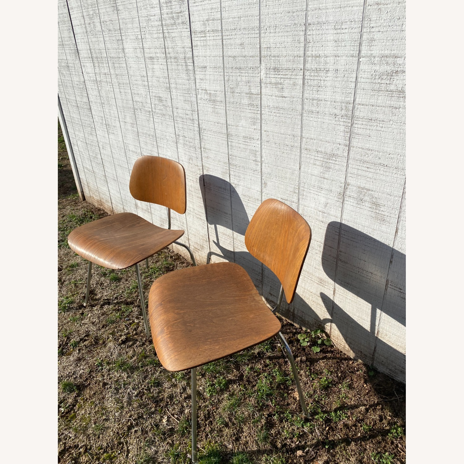 Pair of 1960s Herman Miller Eames DCM Chairs - image-9