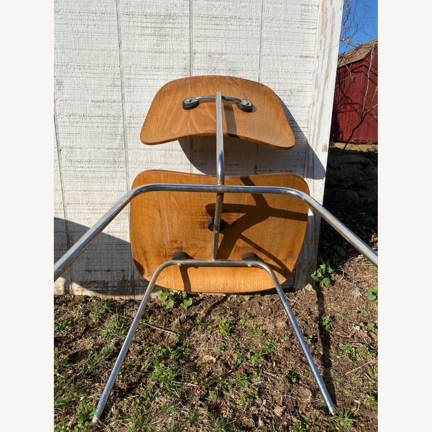 Pair of 1960s Herman Miller Eames DCM Chairs - image-4