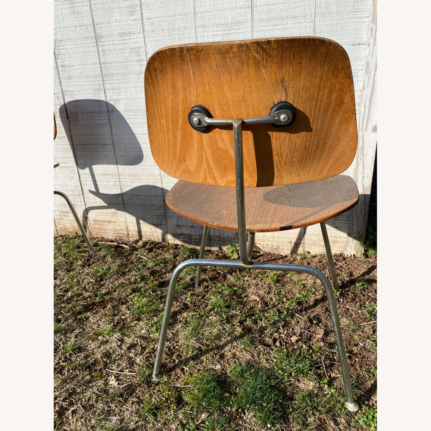 Pair of 1960s Herman Miller Eames DCM Chairs - image-5