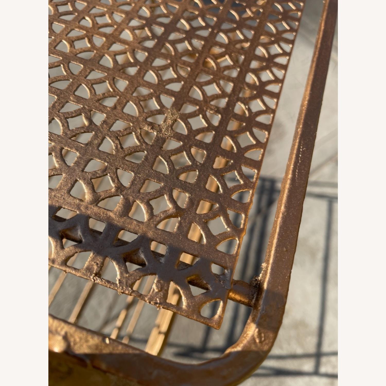 Vintage 1970s Bar Cart/Vine Rack - image-4