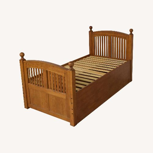 Used Stanley Boys Trundle Bed for sale on AptDeco
