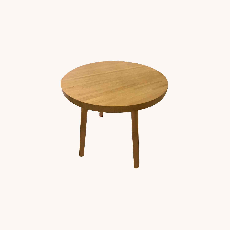 Tom Dixon Wood Bistro Table - image-0