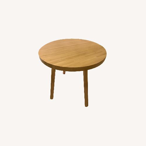 Used Tom Dixon Wood Bistro Table for sale on AptDeco