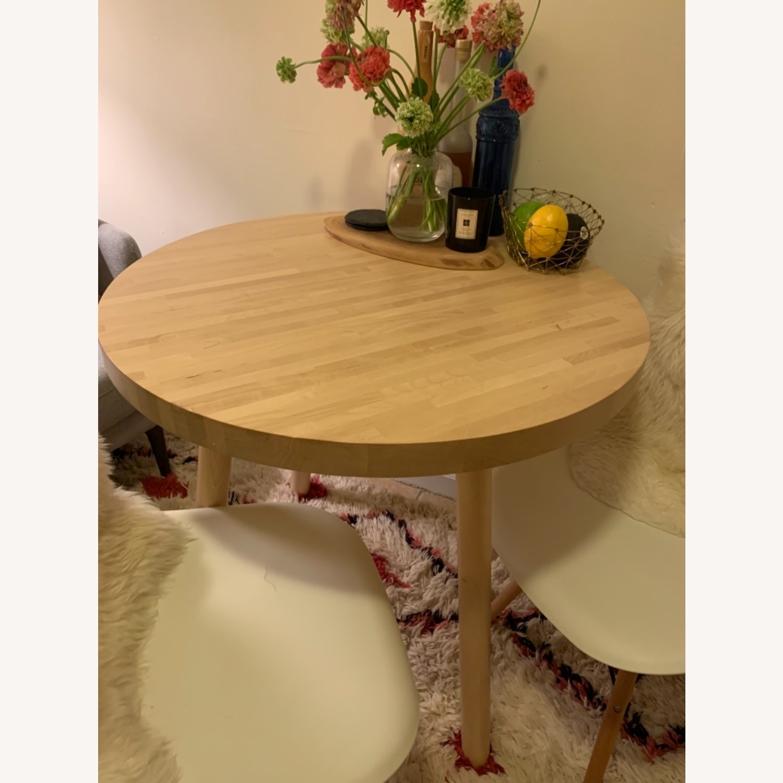 Tom Dixon Wood Bistro Table - image-2
